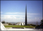 Монумент посвященный памяти жертв Геноцида армян. Ереван.